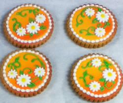 flower Royal Iced Cookies