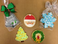 Christmas Royal Iced Cookies