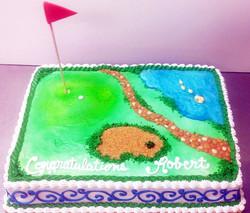 Sports Golf II Cake