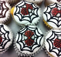 spider cupcakes
