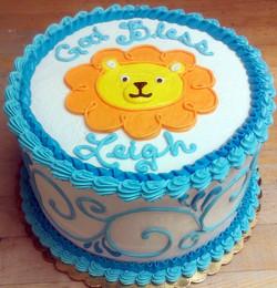 Religious Lion Head Cake