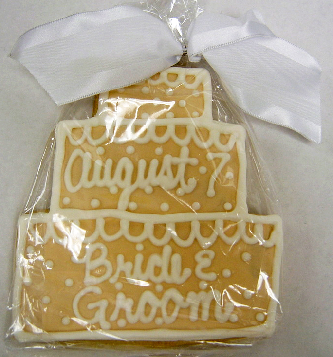 Wedding Cake Royal Iced Cookies
