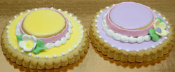 Easter Hat Royal Iced Cookies