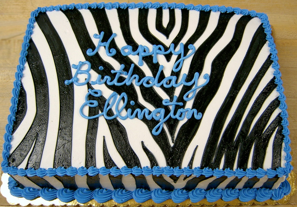 Adult Zebra Stripe Cake