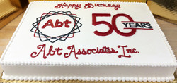 Adult Corporate Celebration Cake