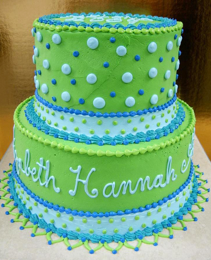 Girl Hannah Tiered Cake