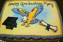 Graduation Mascot II Cake