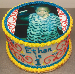 Custom Photo VIII Cake