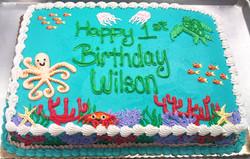 Boy Undersea Cake