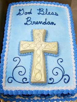 Religious Cookie Cross Cake