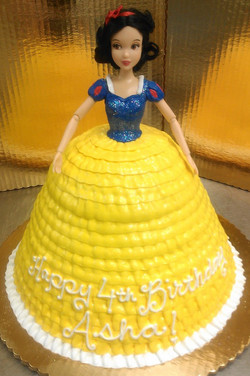 Girl Sculped Doll II Cake
