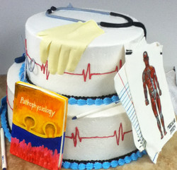 Adult Medical Theme Cake