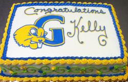 Graduation Kelly Cake