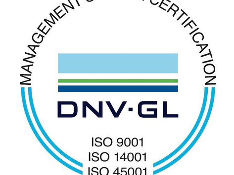 We are now ISO certified!