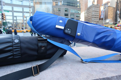 RiO Ink and RiO Sapphire. New Innovative yoga mat carrier to store and protect and care for your favorite mat.