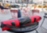 Red Yoga Mat Holder