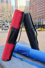 RiO Scarlet, RiO Ink and RiO Sapphire. New Innovative yoga mat carrier to store and protect your favorite mat.