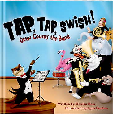 Tap, Tap Swish: Otter Counts the Band