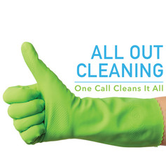 All Out Cleaning Logo