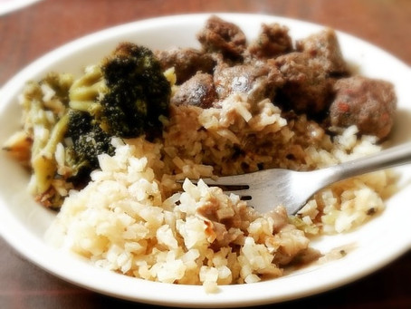 אורז-כרובית דל פחמימות בסיסי