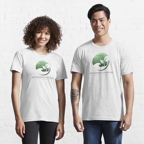 Essential T-Shirt Logo Couleur Français