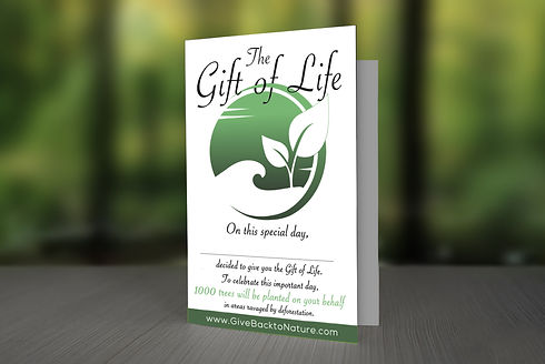 Give the gift of Life greeting cards