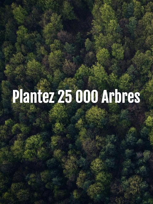 Plantez 25 000 Arbres