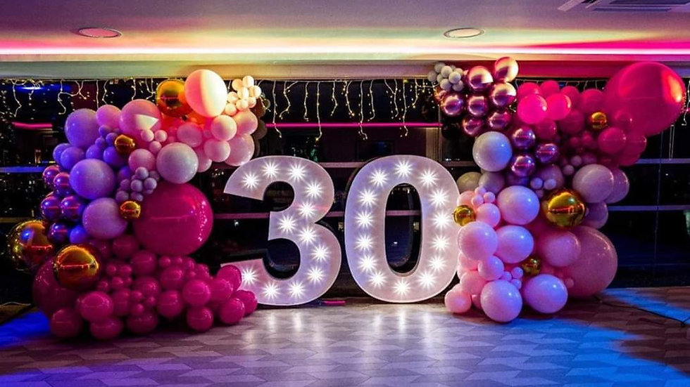 LED 5ft Numbers