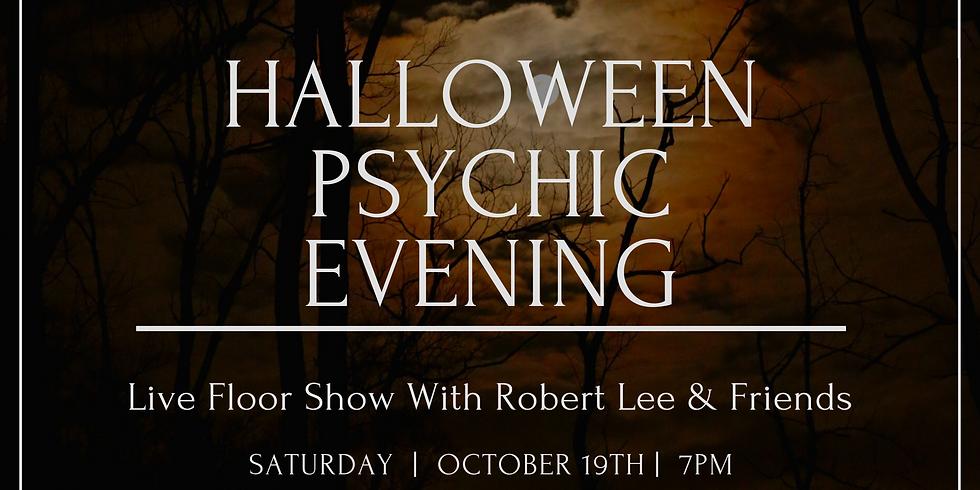 Halloween psychic floor show