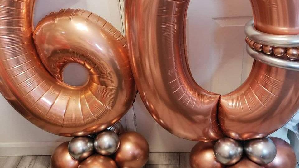 Number balloons & balloon art