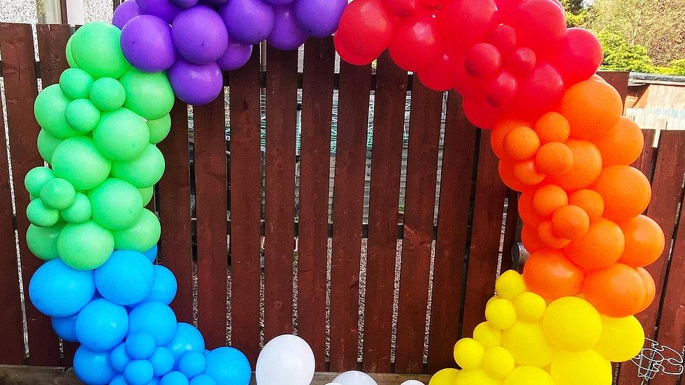 Full balloon arch hoop