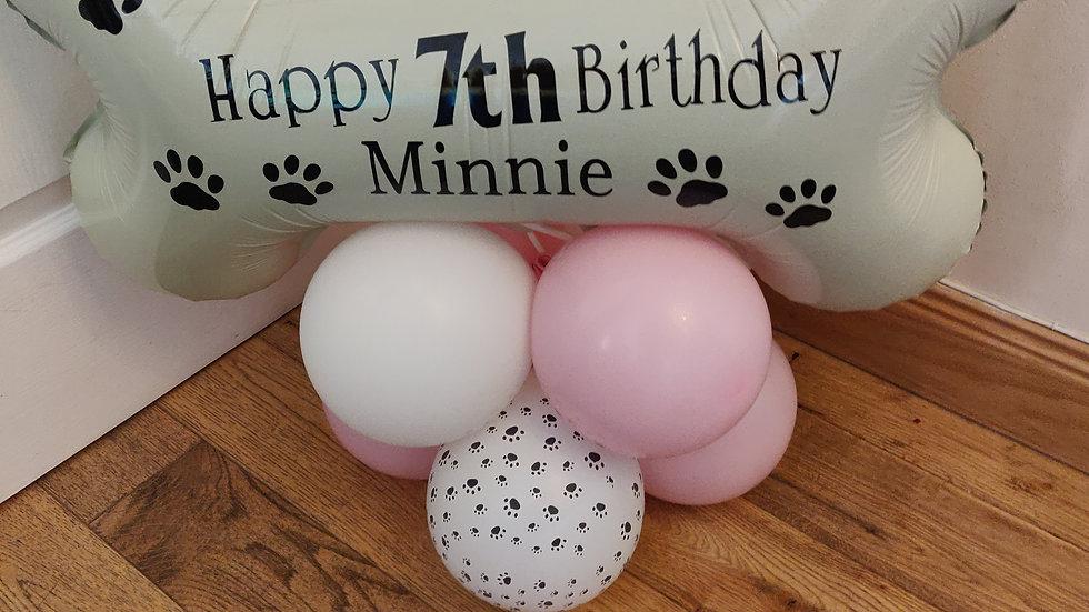 Dog bone balloon