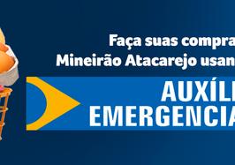 Auxílio emergencial: aprenda como utilizar o benefício no Mineirão Atacarejo