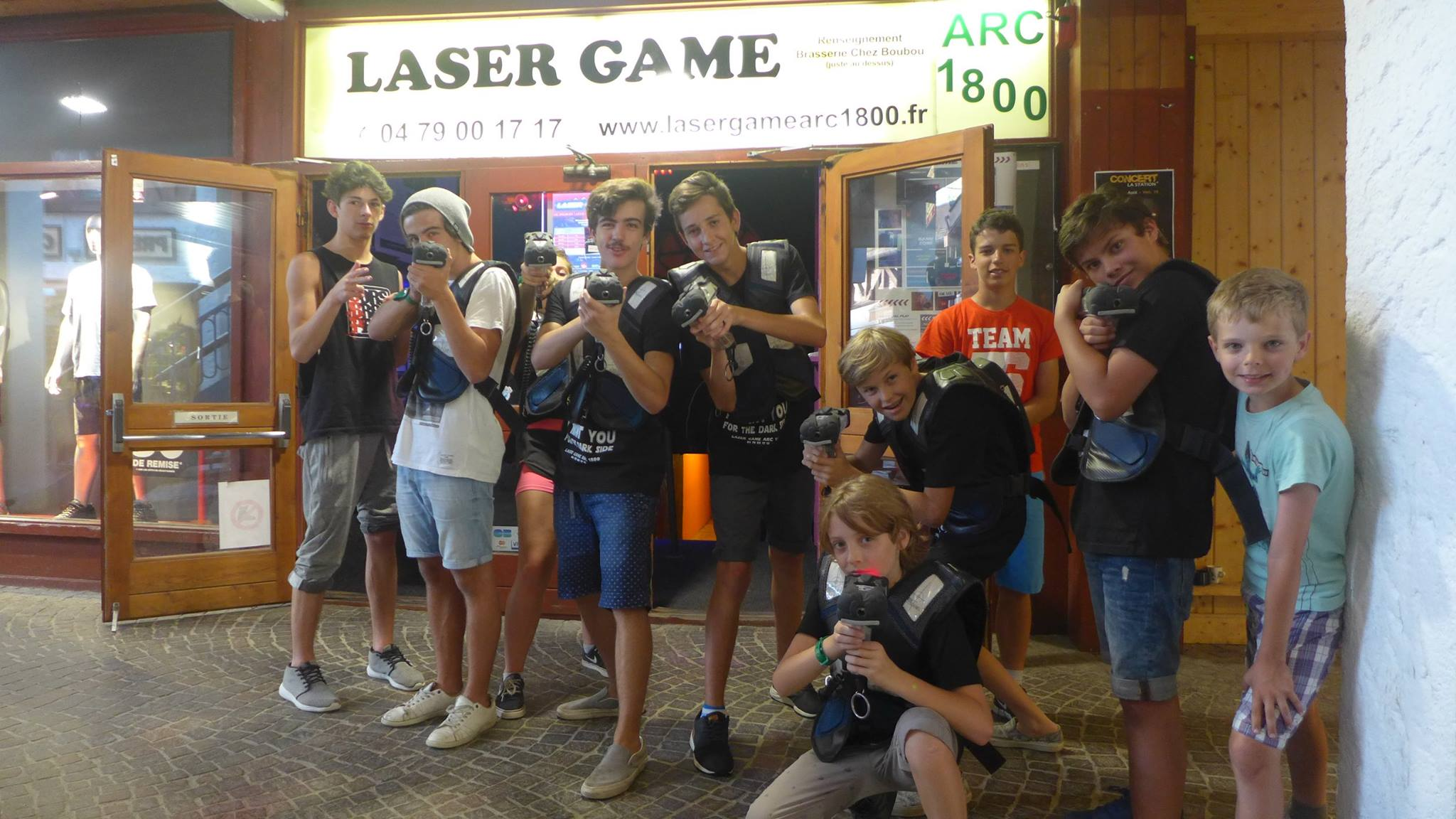 LASER GAME ARC 1800 CHEZ BOUBOU2