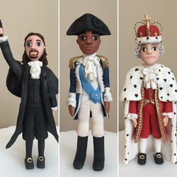 Hamilton Cake Edible Figures