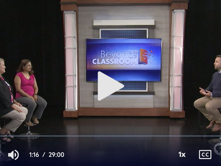 """We go """"Beyond the Classroom"""" with PBS 39"""