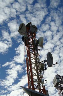 Torre Roof-Top para Telecomunicações