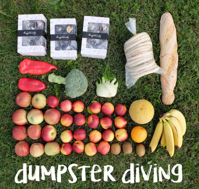 Dumpster Diving ou manger gratuitement, ça ne fait pas tout