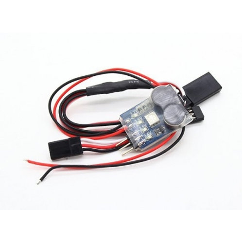 Matek 3-In-1 Lipo Battery Monitor Low Voltage Alarm Signal Loss Buzzer