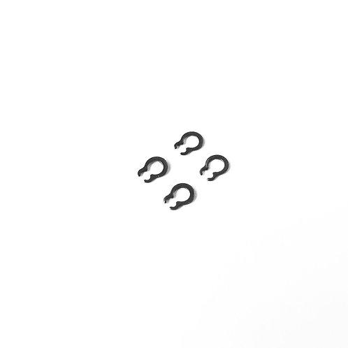 """C""-Clip for 3mm Motor Shaft (Pack of 4 pcs)"