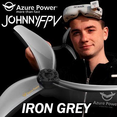 Azure Power Johnny Freestyle 4838 Propeller (Set of 4) : IRON GREY