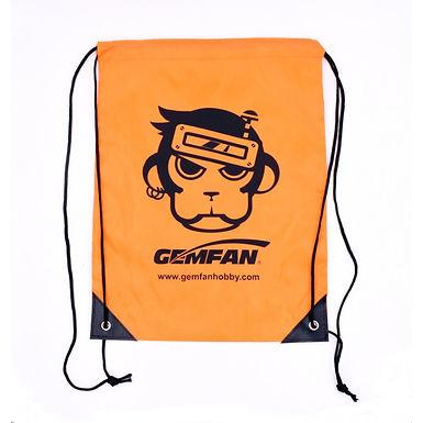 Gemfan Drawstring Storage Bag : (Monkey Logo) 30cmx40cm