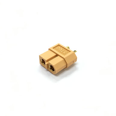XT60 Battery Connector (Yellow) - Battery Side (Male)