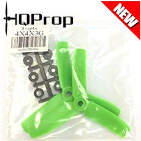 HQProp 4x4x3G (Green) [TRIPLE PROP] Normal
