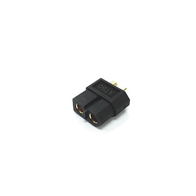 XT60 Battery Connector (Black) - Battery Side (Male)