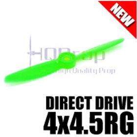 HQProp DD4x4.5RG (Green) [DIRECT DRIVE] Reverse