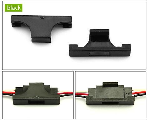 Servo Safety Clip Fastener - BLACK (1 piece)