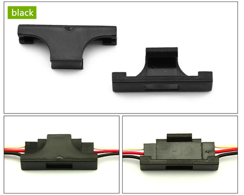 Servo Safety Clip Fastener - BLACK (1 piece)