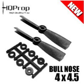 HQProp 4x4.5 (Black) [BULLNOSE]  Normal