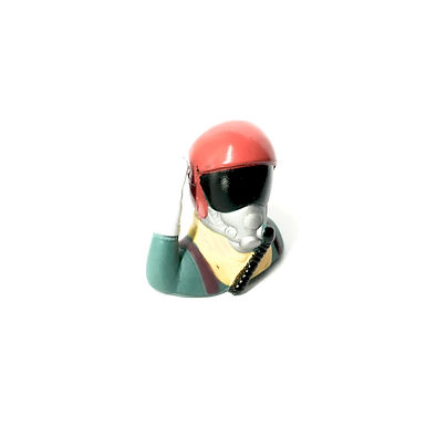 1/10 Jet Pilot Figure - Red Helmet (Salute)